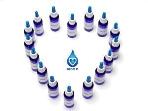 Herz DROPS 15 energetischen Tropfen