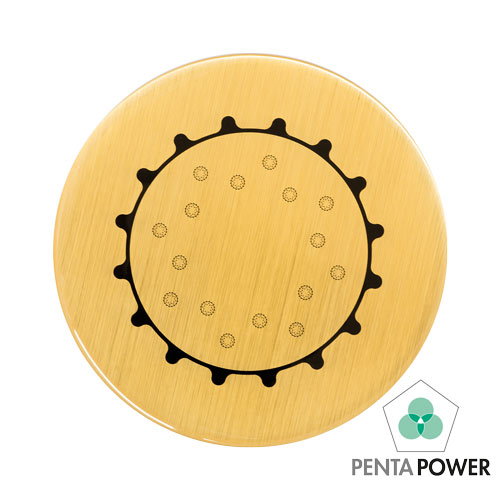 Penta Power Gold Tag raises the energetic field in the space surrounding you