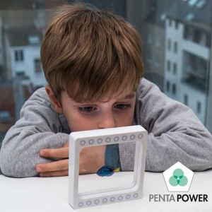 Discover also the Penta Power My Buddy Fish to protect children from the possible negative effects of radiation