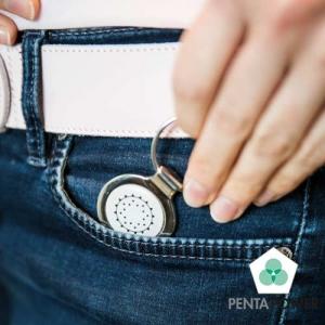De Penta Power Pendant sleutelhanger versterkt uw persoonlijk energieveld