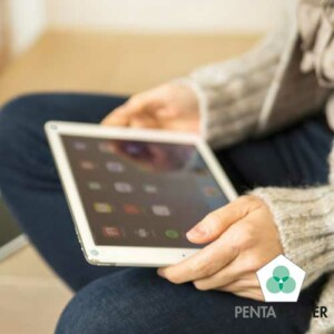 Penta Power Phone tag op tablet